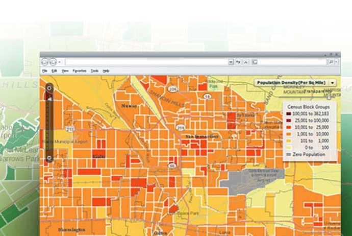 地理空間情報の普及